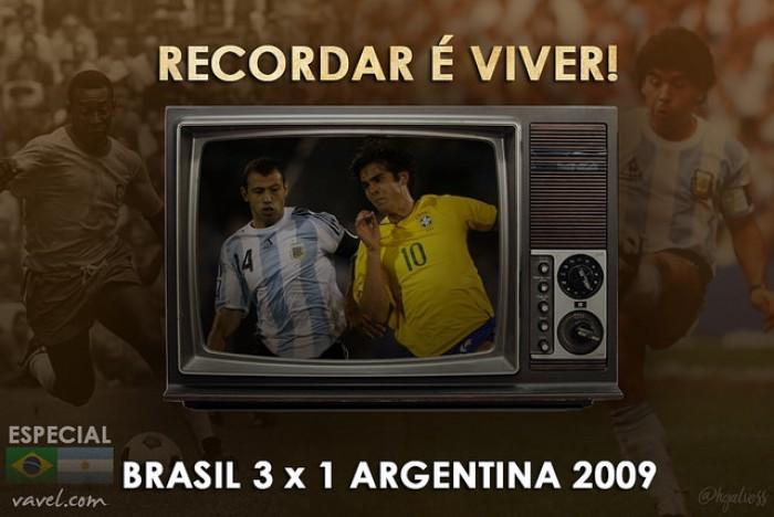Recordar é viver: Luis Fabiano dá show e Brasil vence hermanos dentro da Argentina