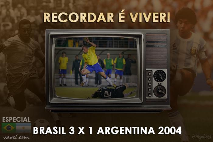 Recordar é viver: Ronaldo marca hat-trick e Brasil vence Argentina no Mineirão
