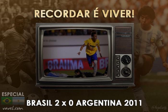 Recordar é viver: a primeira vitória de Neymar frente a Argentina no Superclássico das Américas de 2011