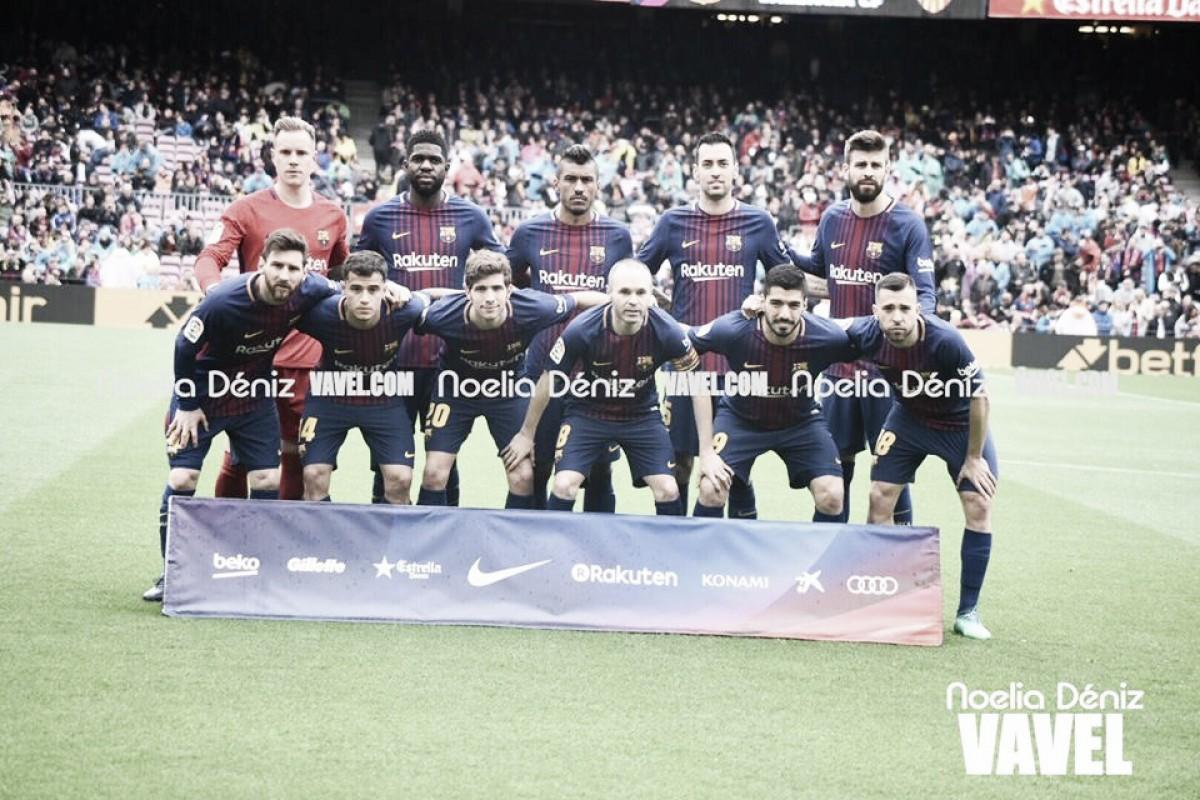 FC Barcelona - Valencia: puntuaciones del Barça, jornada 32 de la Liga Santander
