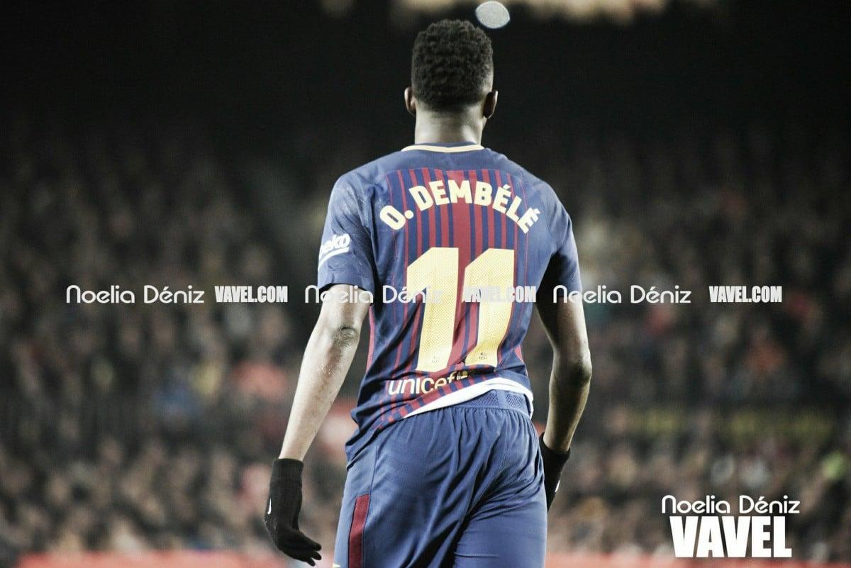 "Ousmane Dembélé: ""Es impresionante jugar junto a Messi"""