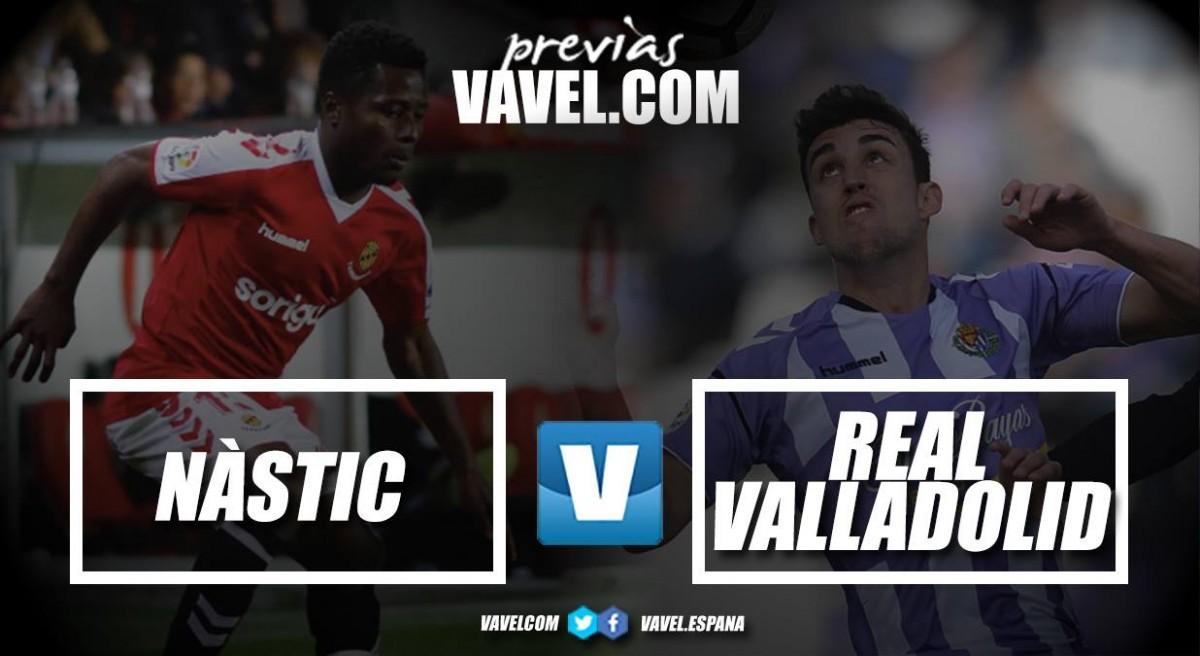 Previa Gimnàstic de Tarragona - Real Valladolid: prolongar la alegría