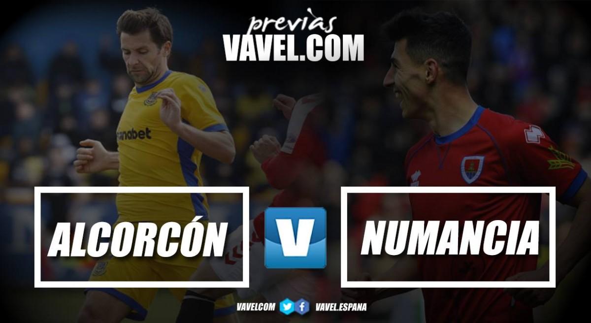 Previa Alcorcón vs Numancia: Los alfareros quieren seguir en línea ascendente