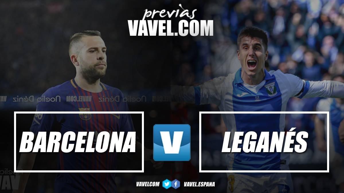 Barcellona - Leganes, Valverde ruota i suoi effettivi