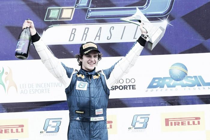 Artur Fortunato vence pela Fórmula 3 Brasil em Interlagos