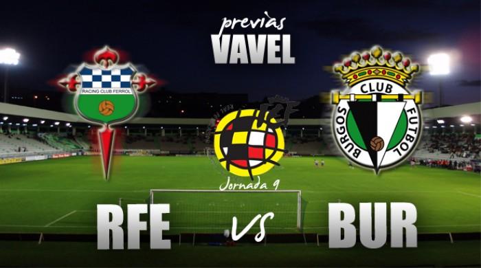 Previa Racing de Ferrol - Burgos CF: duelo a vida o muerte