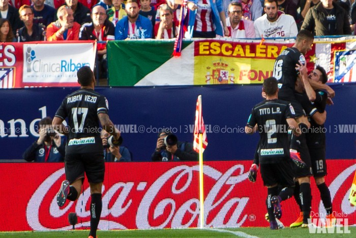 Atlético de Madrid - Granada CF: puntuaciones del Granada CF, jornada 8
