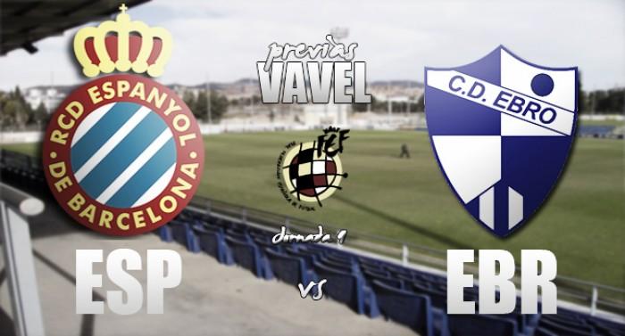 Espanyol B - CD Ebro: gol frente a necesidad