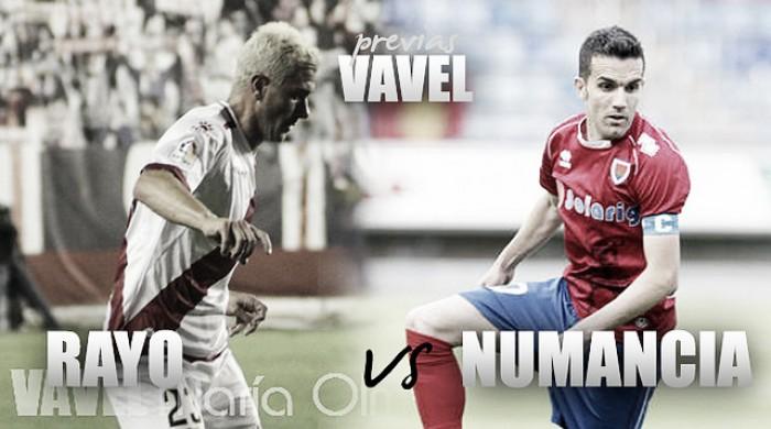 Rayo Vallecano- CD Numancia: tres puntos de oro