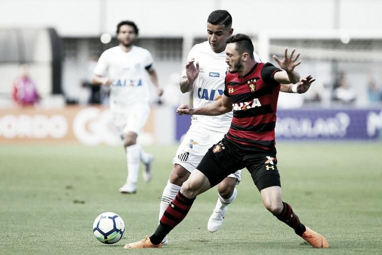 Sport recebe Santos em jogo para definir sua permanência na Série A
