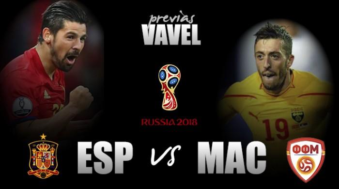 Qualificazioni mondiali - Occhi azzurri puntati su Spagna-Macedonia