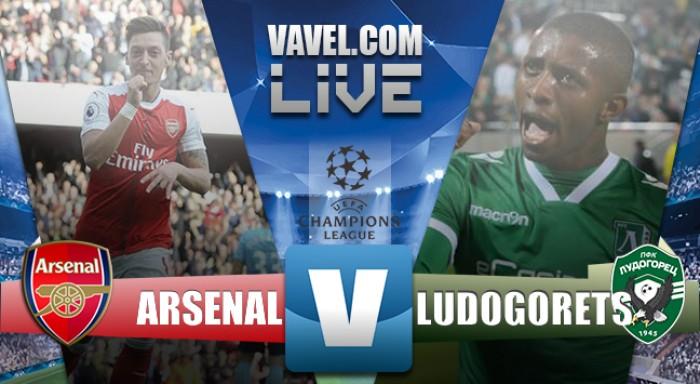 Arsenal - Ludogorets diretta, LIVE Champions League 2016/17 (6-0): TRIPLO OZIL!