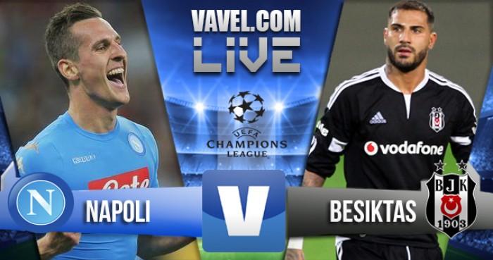 Partita Napoli - Besiktas in Champions League 2016/17 (2-3): Il Napoli cade ancora, a far festa sono i turchi!