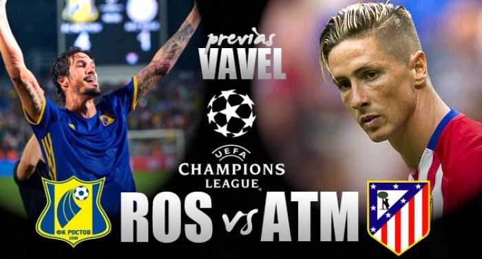 Champions League: Rostov - Atletico Madrid, Simeone per confermare il primato