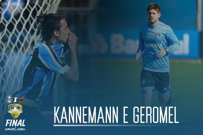 Kannemann e Pedro Geromel: os pilares da defesa gremista para chegar à final