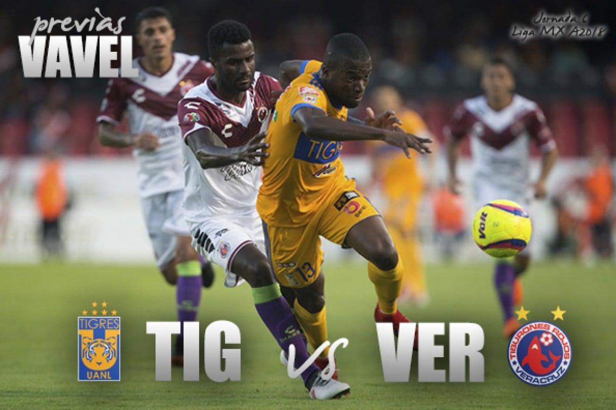 Previa Tigres - Veracruz: los universitarios suman tres derrotas al hilo