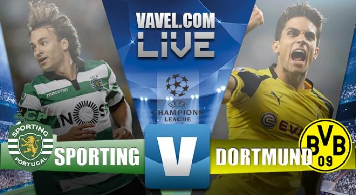 Sporting CP-BorussiaDortmund (1-2), la riapre Bruno Cesar. Diretta live Champions League 2016/2017