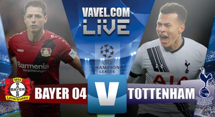 Bayer Leverkusen 0-0 Tottenham: Sin premio para ninguno
