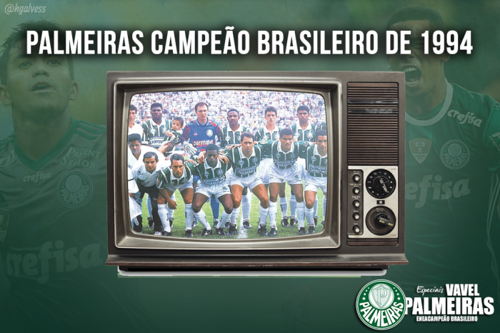 O futebol envolvente que levou o Palmeiras ao bicampeonato de 1994