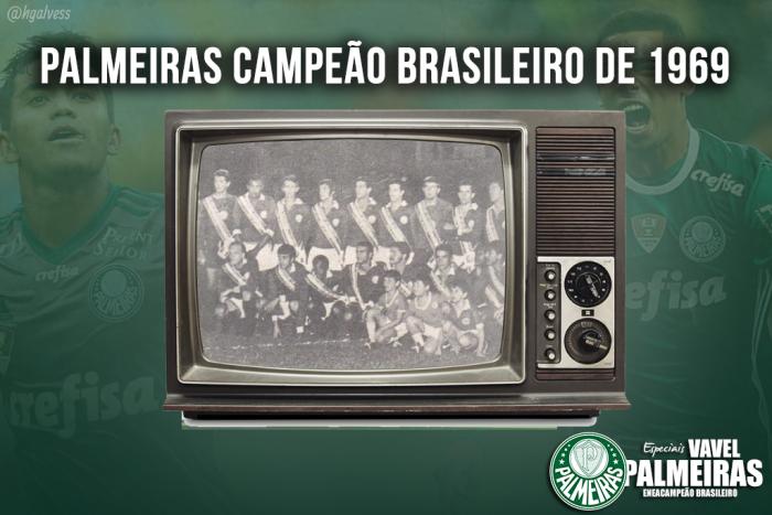Relembre: Palmeiras vence Botafogo e conquista Torneio Roberto Gomes Pedrosa de 1969