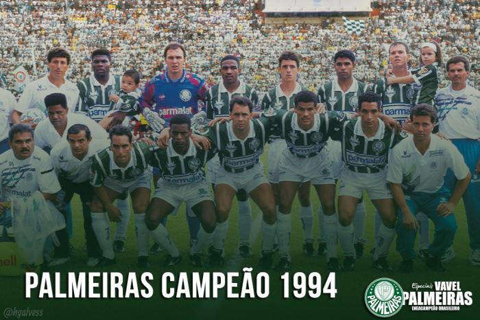 1994 ou 2016: Qual o melhor elenco dos dois últimos Brasileiros do Palmeiras?