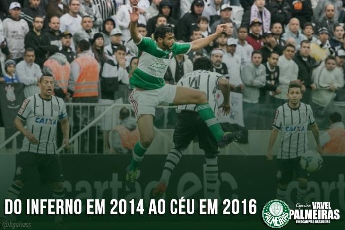 Palmeiras: do inferno em 2014 ao título brasileiro de 2016