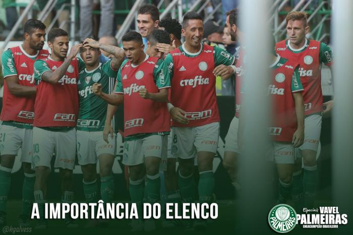 Palmeiras 2016: a importância do elenco para a conquista do enea