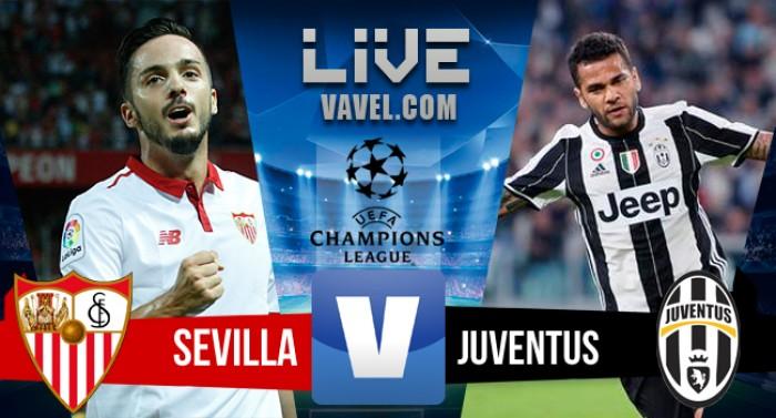 Sevilla perde para a Juventus na Champions League (1-3)