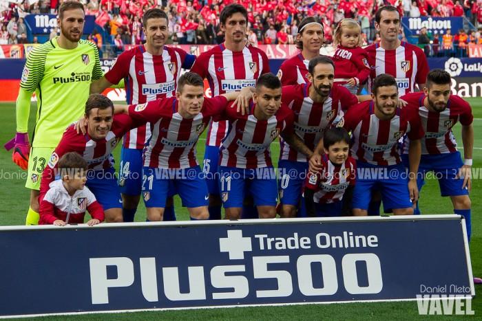 Atlético de Madrid - Granada: puntuaciones del Atleti, jornada 8