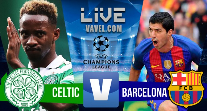 Resultado Celtic x Barcelona Pela Champions League 2016/17 (0-2)