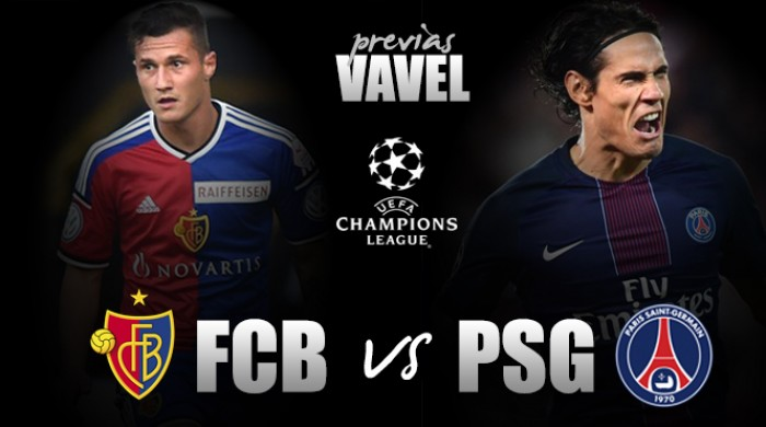 Basel encara PSG buscando seguir vivo por vaga nas oitavas de final