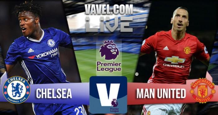 Chelsea - Manchester United in Premier League 2016/17 (4-0): Poker, segna Kanté!