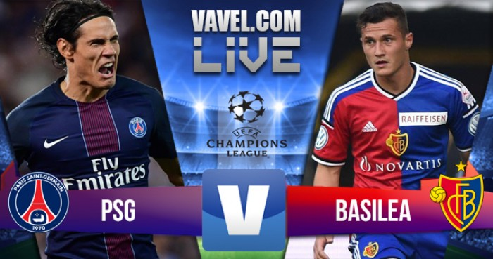 Paris Saint-Germain - Basilea in Champions League 2016/17: 3-0 risultato finale