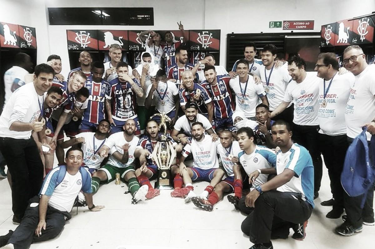 Mais um, Bahia! Esquadrão supera Vitória novamente e conquista 47º título baiano