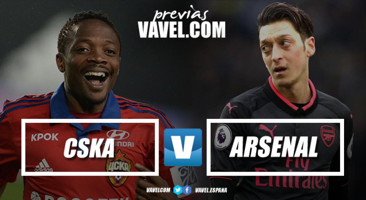 Previa CSKA de Moscú – Arsenal: la razón sobre el corazón
