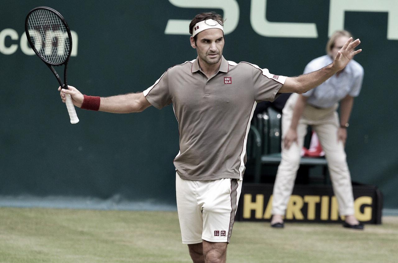 Decisivo, Federer elimina Bautista-Agut e vai às semis do ATP 500 de Halle