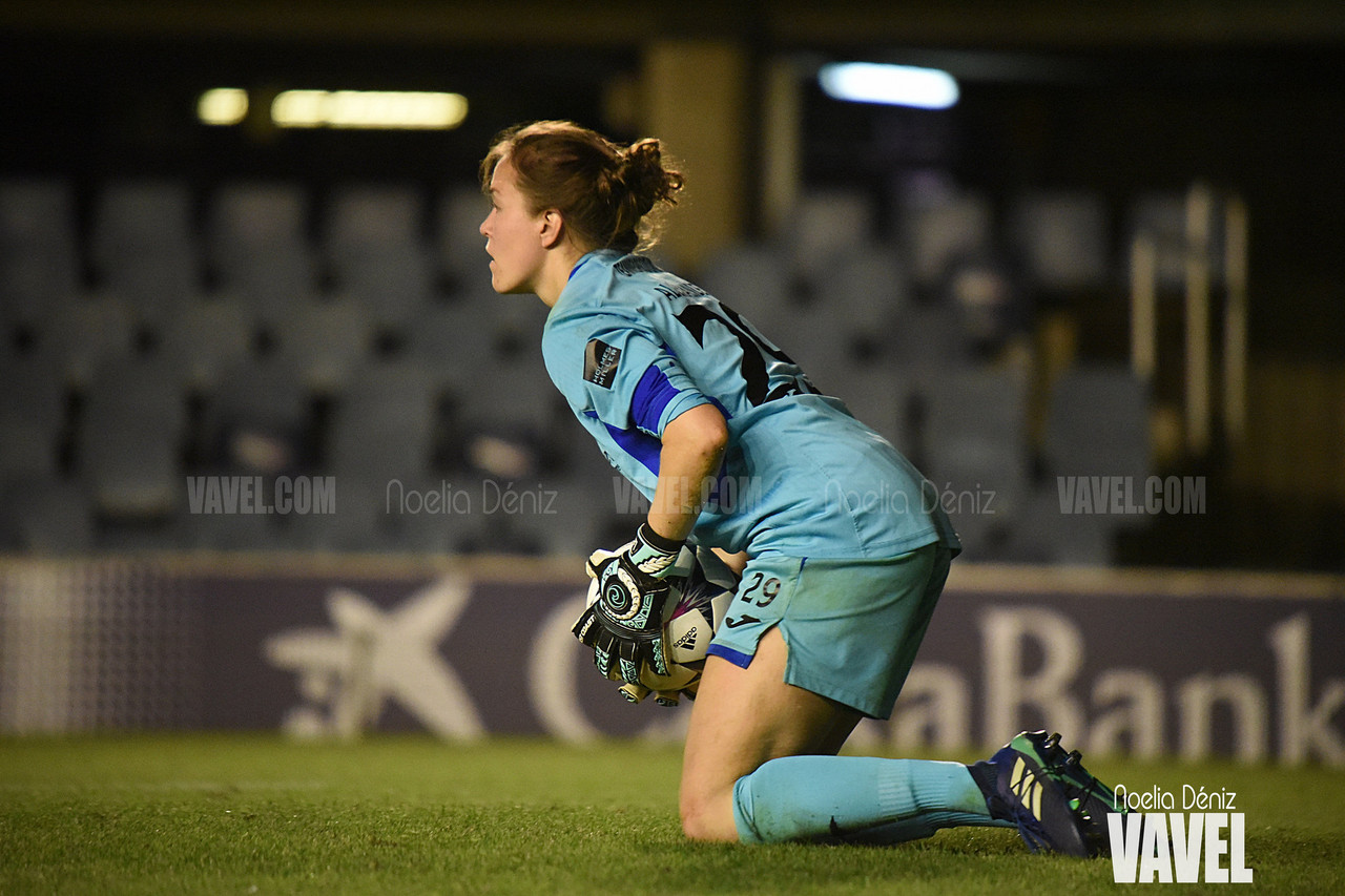 Hayley Lauder and Lee Alexander on their Champions League exit