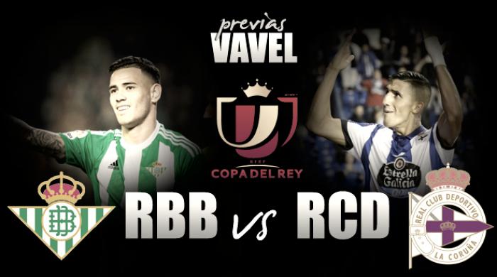 Real Betis - Deportivo: la Copa ilusiona a la plantilla