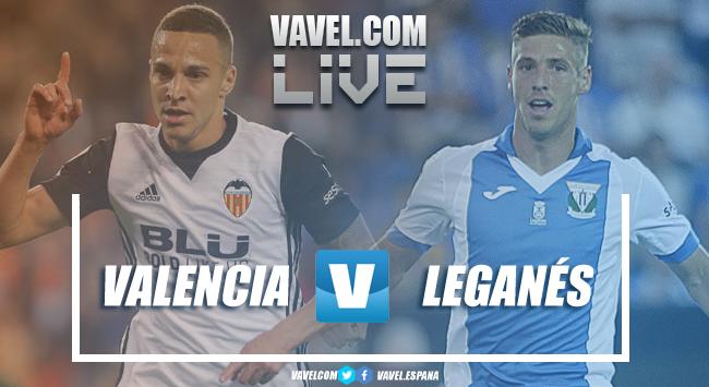 Resumen Valencia CF vs CD Leganés en LaLiga Santander 2018 (1-1)