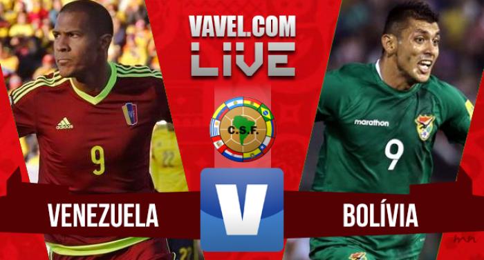 Resultado Venezuela x Bolívia (5-0)