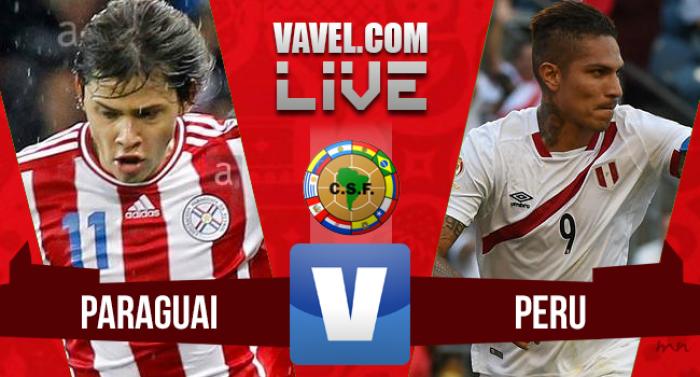 Resultado Paraguai x Peru pelas Eliminatórias para a Copa 2018 (1-4)