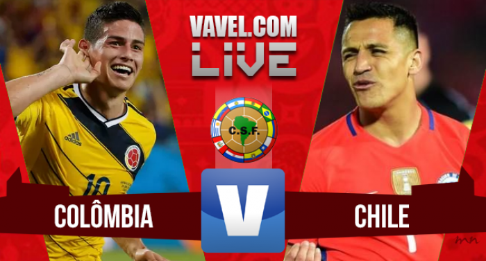Resultado Colombia vs Chile por Eliminatorias a Rusia 2018 (0-0)