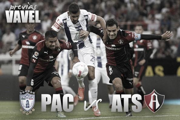 Previa Pachuca - Atlas: por el primer triunfo blanquiazul en casa