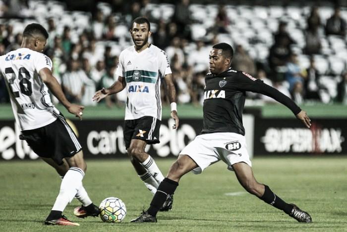 Resultado Coritiba x Atlético-MG pelo Campeonato Brasileiro 2017 (0-2)