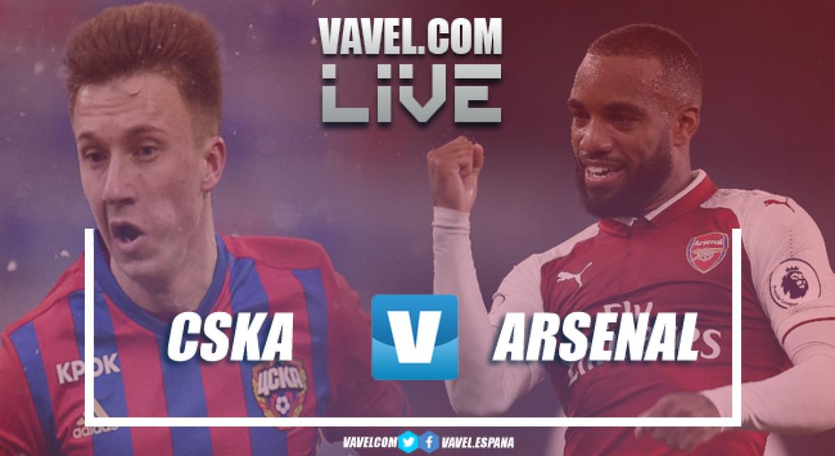 Resumen CSKA Moscú 2 vs 2 Arsenal en Europa League 2018 (3-6)