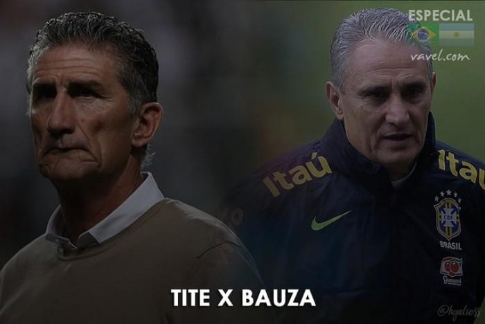 Brasil x Argentina coloca frente a frente dois técnicos sul-americanos respeitados