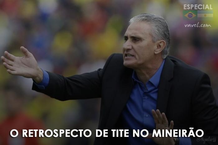 Chance de melhorar: Tite e seu retrospecto no Mineirão