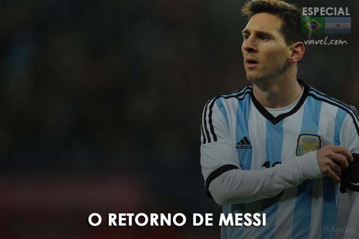 Fator Messi: camisa 10 retorna à Argentina e rendimento da Seleção dobra em campo