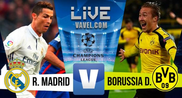 Real Madrid empata com o Borussia Dortmund pela Champions League (2-2)