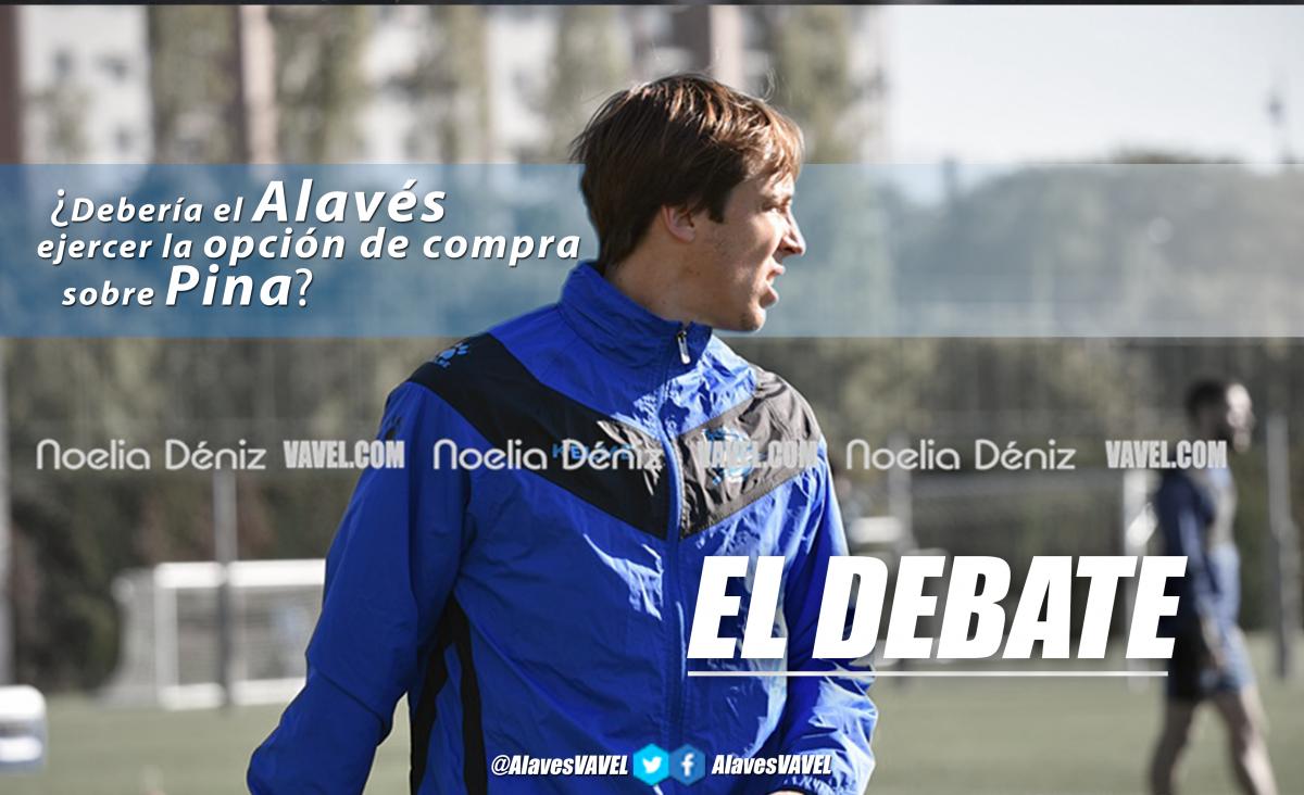 El debate: ¿debería el Alavés ejercer la opción de compra sobre Pina?